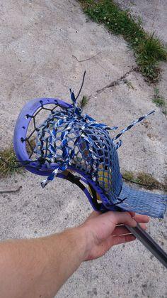 Iroquois top string, East Coast Dye  15mm mesh, Warrior Rabil HS head #lacrosse