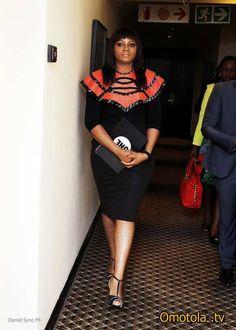 African Women - Nigerian Model Omotola Jalade Ekeinde #Omotola_Jalade_Ekeinde