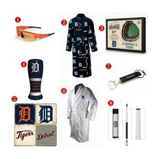 8 Great Father's Day Gift ideas for the avid Detroit Tigers Fan! See all of our Tigers gifts at http://www.topnotchgiftshop.com/detroit-tigers.html