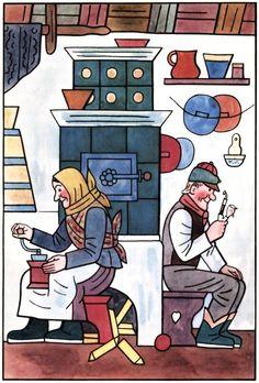 Mikeš (mj) Book Illustration, Mj, Painters, Illustrators, Folk Art, Fairy Tales, The Past, Kids Rugs, Comics