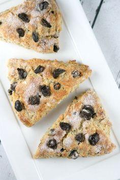Cherry Oat Scones recipe