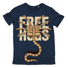 ⭐NEW : T-shirt Alien Free Hugs 19,90€ Dispo ici ➡ http://ow.ly/ivXX30bJMa3  Il fait beau, un petit t-shirt plein de douceur ?  #alien