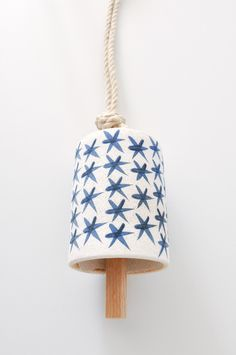 MQuan Studio ceramic bell (Made in America, New York)