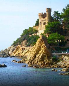 Castillo de Lloret de Mar,Gerona