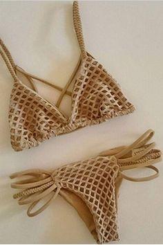 Ladies swimwear swimsuit bikini sexy a net CS