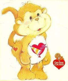 Care Bears Cousins - Playful Heart Monkey