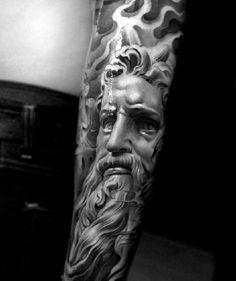 Black & Gray tattoos by Jun Cha