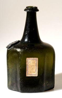 18th c. sealed mallet bottle. google.com