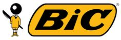 "TIL BiC pen company's mascot is called Bic Boy. Founded by Marcel ""Bich"" which was quickly changed to BiC because of the English pronunciation. Marcel, Logo Inspiration, Video Blog, Logo Pen, Free Pen, Bic Pens, Ballpoint Pen, Bic Lighter, Back To School Supplies"