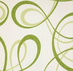 Diseño con curvas en este papel pintado de la colección Delight de PS International.