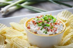 Crack Dip is the dip you won't be able to resist. Ranch, bacon, cheddar cheese--just try to stay away!