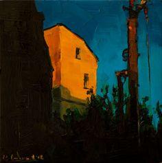 Das gelbe Haus - Love this painting by Edward B Gordon