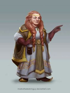 f Dwarf Cleric Robes