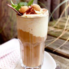 Sansibars kalt-heißer Eiskaffee