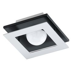 The sleek Eglo Bellamonte Flush Mount Light is perfect for lighting your bath. This flush mounted light requires one LED bulb (included). Bathroom Fan Light, Bathroom Lighting, Recessed Outlets, Design Pas Cher, Small Foyers, Kristiansund, Outdoor Flush Mounts, Flush Mount Lighting, Incandescent Bulbs