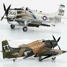 Airplane Fighter, Fighter Aircraft, Fighter Jets, In China, Scale Models, Air Vietnam, Douglas Aircraft, Aircraft Propeller, Military Action Figures