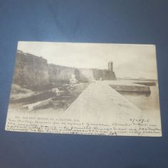 Old Fort St. Augustine Florida 1906 Vintage Postcard