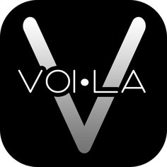 Executive sign off on the #voila #app #icon - it's simply #beautiful now Real Estate & VOI•LA = #PERFECTION