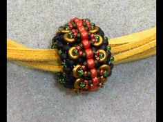 """An easy, embellished peyote stitched bead using 8/0, 11/0 and 15/0 rounds along with some """"O"""" (as in """"oh"""") beads. Say no to mood altering drugs. Don't take t..."""