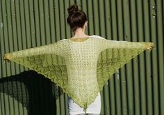 Ravelry: Bella Botanica Shawl pattern by Karen Strauss