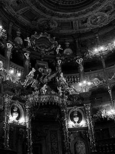Markgräfliches Opernhaus (Margravial Opera House) in Bayreuth, Germany Architecture Classique, Baroque Architecture, Beautiful Architecture, Computer Architecture, Japanese Architecture, Architecture Portfolio, Interior Architecture, Voyage Rome, Slytherin