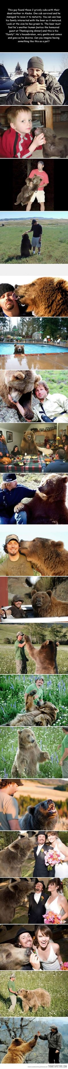 The story of a man and his bear