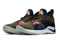 e1ebb7e426a Nike PG 2 ACG Mens Basketball Shoes 13.5 Olive Canvas Obsidian Paul George   Nike