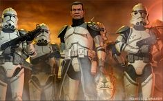 Commander Wolffe & The Wolf Pack