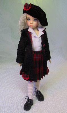 MHD Designs - L'Écolière - Fashion Pattern for 18 Inch Kaye Wiggs Dolls