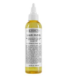 Magic Elixir Hair Restructuring Concentrate with Rosemary Leaf and Avocado Oils by Kiehl's® is a natural oil scalp treatment for soft and shiny hair. Dry Scalp, Hair Scalp, Flaky Scalp, Frizzy Hair, Shampoo For Thinning Hair, Kiehl's Since 1851, Healthy Scalp, Healthy Hair, Best Shampoos