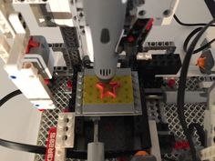 LEGO Mindstorms 3D printer Lego Mindstorms, Lego Technic, Lego Machines, Space Activities, Lego Projects, Legos, 3d Printer, Robotics, Raspberry