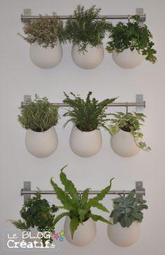 Diy cadre v g tal id es deco pinterest bricolage - Mur vegetal interieur diy ...