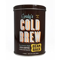 Gradys Gradys Cold Brew Bean Bags ** Click image for more details. Note: It's an affiliate link to Amazon.