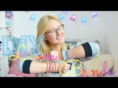 Loom Bands - 3 einfache Anleitungen   Armbänder, Rainbow Looms, DIY, Tutorial - YouTube Pebble Painting, Pebble Art, Stone Painting, Rainbow Loom Charms, Rainbow Loom Bracelets, Butterfly Dragon, Monarch Butterfly, Ribbon Sculpture, Boutique Hair Bows