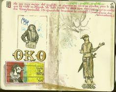 de vuelta con el cuaderno: Cuaderno Muaré (14. + Croacia) OKO Zagreb