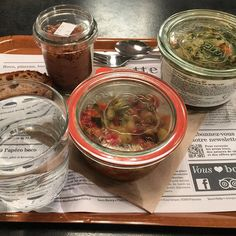 """t this clever mini-chain of three restaurants in the heart of Paris, five three-star chefs – including Anne-Sophie Pic, Régis Marcon, and Emmanuel Renaut – were recruited to create recipes for a selection of eat-in or takeaway starters, mains and desserts using mostly organic produce. Most dishes come in recyclable glass jars (bocal, pronounced """"boco,"""" is French for jar), and they run from Pic's starter of coddled egg with lentils and red onions, to Renaut's polenta lasagne with mushrooms…"""