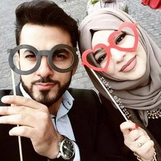 Image de hijab and love couple dps, cute couple selfies, couple pictures, love
