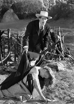 STAGECOACH (1939) - John Wayne - Claire Trevor - Thomas Mitchell - John Carradine (pictured) - Andy Devine - George Barcroft - Produced by Walter Wanger - Directed by John Ford - United Artists - Publicity Still.