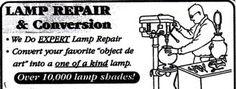 The Shade Tree - Lamp Repairs