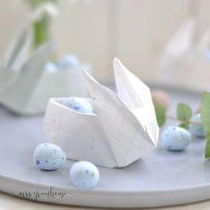 DIY - kleine Origamihasen falten