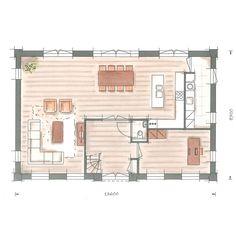 Villabouw villa Nachtpauwoog plattegrond begane grond