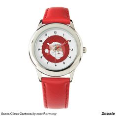Santa Claus Cartoon Wristwatch