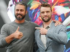 Star Tracks: Thursday, June 16, 2016   CHECK 'EM OUT   Chicago Fire co-stars Taylor Kinney and Jesse Spencer head to the Monte-Carlo Television Festival on Wednesday in France.