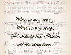 Come read more about the music of the Gospel at: http://iamcrossingjordan.wordpress.com/category/this-is-my-song/