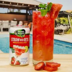 Refreshing and delicious! Watermelon Straw-Ber-Rita Collins  Ingredients: 4-6 oz Straw-Ber-Rita 1 oz Lemon Juice .75 oz Agave Syrup 3 Watermelon Chunks Pinch Salt [[MO...