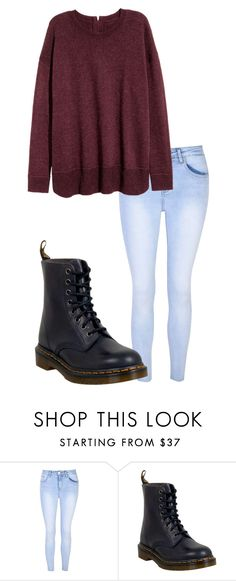 """""""October 25"""" by megaspirit on Polyvore featuring Glamorous and Dr. Martens"""