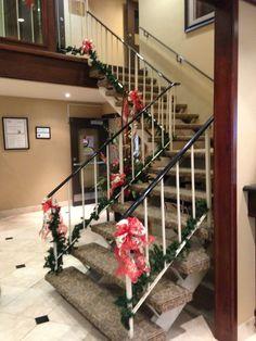 Holiday decor Seasonal Decor, Holiday Decor, Stairs, Seasons, Home Decor, Stairways, Ladder, Staircases, Room Decor