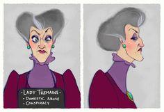 Villain Mugshots - Lady Tremaine