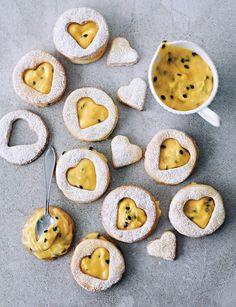 Sweet Paul Magazine - Spring 2013 - double-decker passion fruit cookies