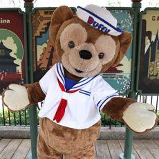 Duffy the Disney Bear - Mikey's own personal teddy bear.  Gotta love him.